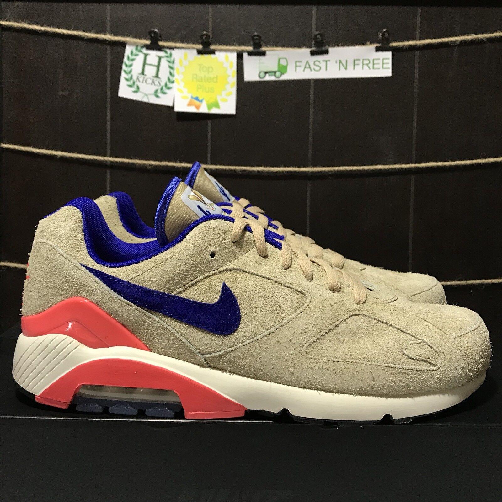Nike Air Max 180 Air Max Day Ralph Steadman Fur Pink Blue BQ0739 993 Size 11