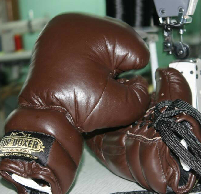 TopBoxer Old Style School Boxing Gloves Vintage Antique Shevlin Style Old 115f3a