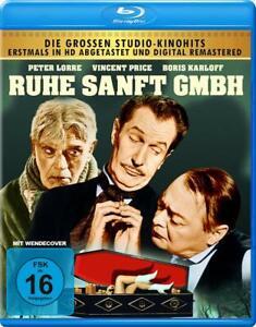 Riposo dolcemente GmbH (HD scannerizzando & Remastered) [Blu-Ray/Nuovo/Scatola Originale] Vincent Price, Pet