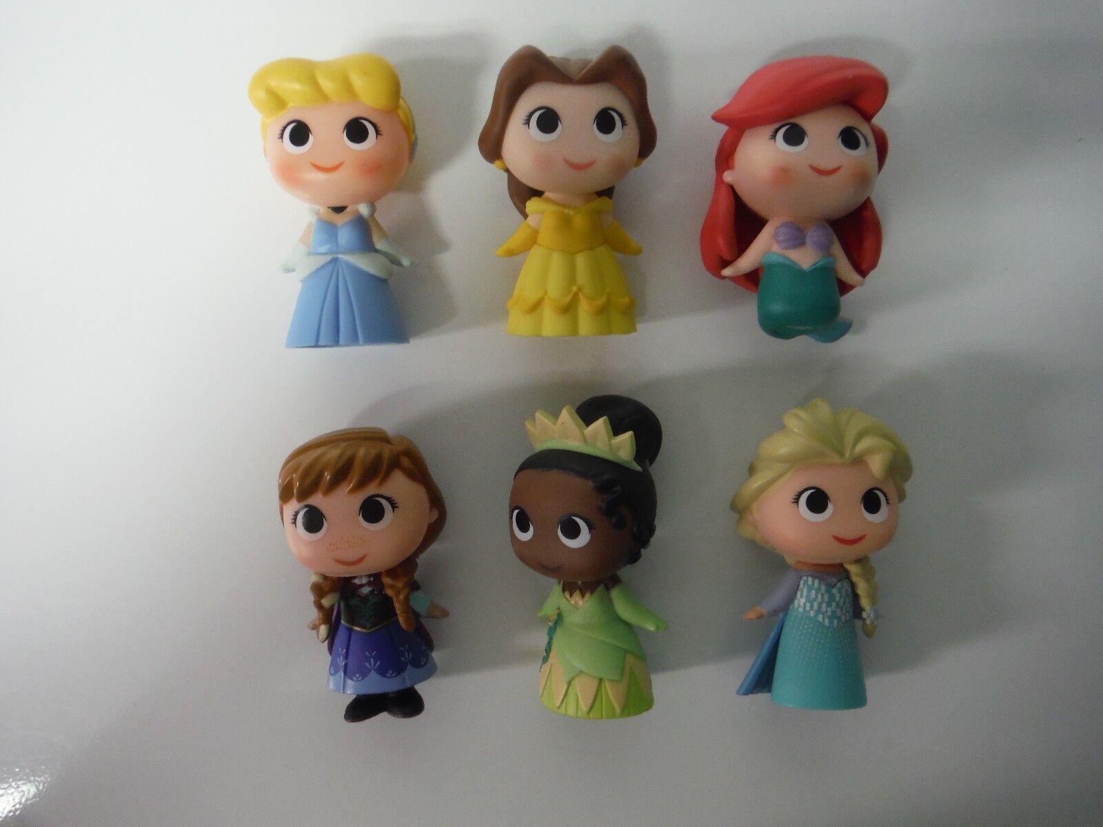 Cinderella Belle Ariel Anna Tiana Elsa Funko Mystery Mini Princess 1 6 12 Rarity