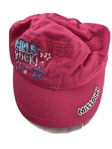 Girls Rock Missouri Adjustable Girls Ball Cap Hat