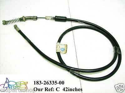 NOS OEM Yamaha Clutch Cable 1977 YZ400 1W4-26335-00