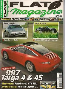 Bien Flat 6 186 Porsche 997 Targa 4s & Turbo 964 Cabriolet Cayman 2.7 997 Gt3 Rsr 3.8