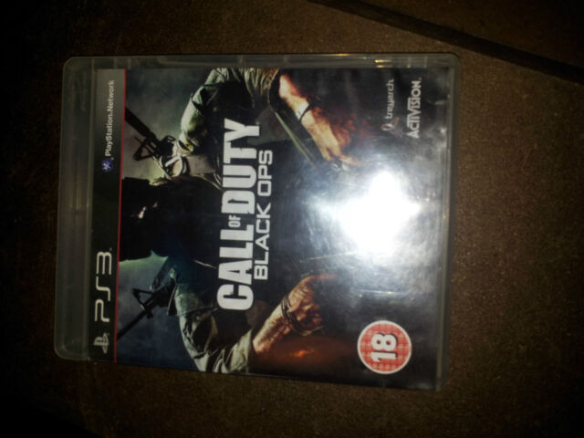 2 X PS3 GAMES CALL OF DUTY BLACK OPS AND BLACK OPS 2 WITH BOOKLET PLAYSTATION 3