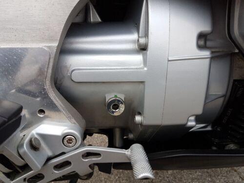 Getriebe hochglanzpoliert BMW R 1100 RS Einfüllschrauben V2A Endantrieb u