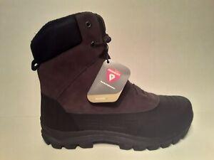 Timberland-Snowblades-Mens-Sz-10-Warm-Lined-Boot-Dark-Brown-Suede-TB-0A23NN-D66