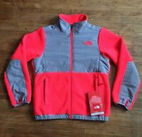 North Face Girl's Denali Jacket Fleece Rocket Red Size X-large (18) With Tag