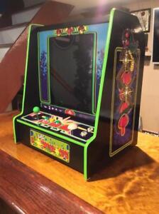 Centipede Bar Top Arcade Machine 60 in 1 Classic Games LED ...
