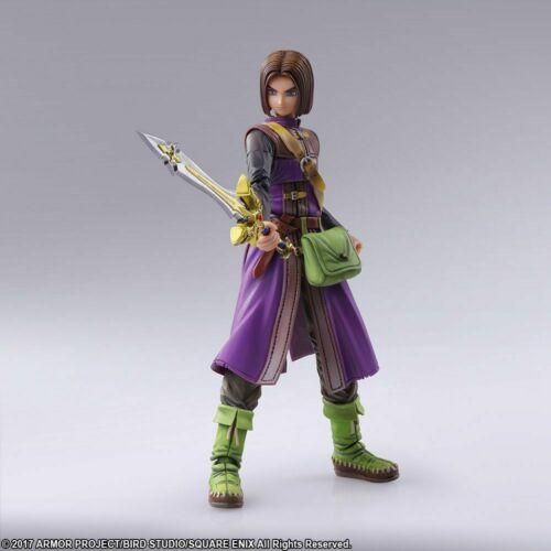 DRAGON QUEST XI NEW AND SEALED THE LUMINARY HERO BRING ARTS ACTION FIGURE 11