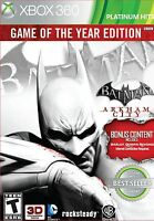 Batman Arkham City Game Of The Year Edition Xbox 360 Brand And Sealed