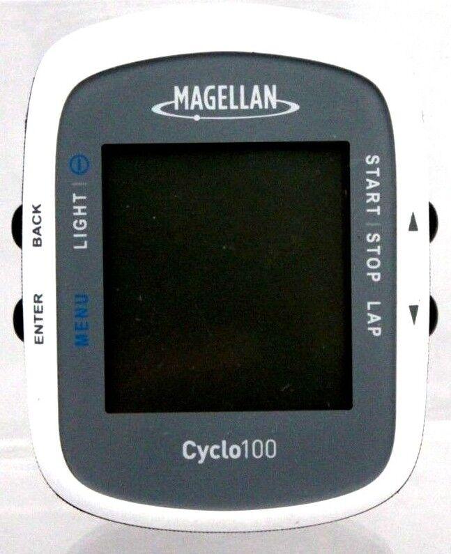 Magellan por Navman Cyclo 100 computadora portátil GPS Bicicleta Bicicleta Bicicleta 8fb8a3