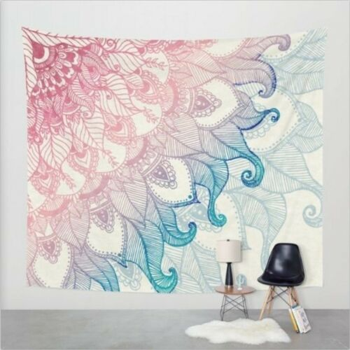 Indian Decor Hippie Tapestries Bohemian Mandala Tapestry Wall Hanging Throw NR7X