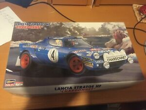 HASEGAWA-LANCIA-STRATOS-CHARDONNET-1-24-RALLY-CAR-MODEL-KIT-UNMADE