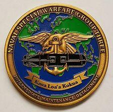 "US Navy SEAL Team 3 Intermediate Maintenance Detachment Kava Loa's Kokua 1.75"""