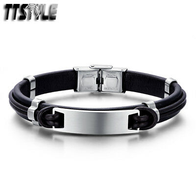 TTstyle Plain Small Double DOG TAG Choose Colour