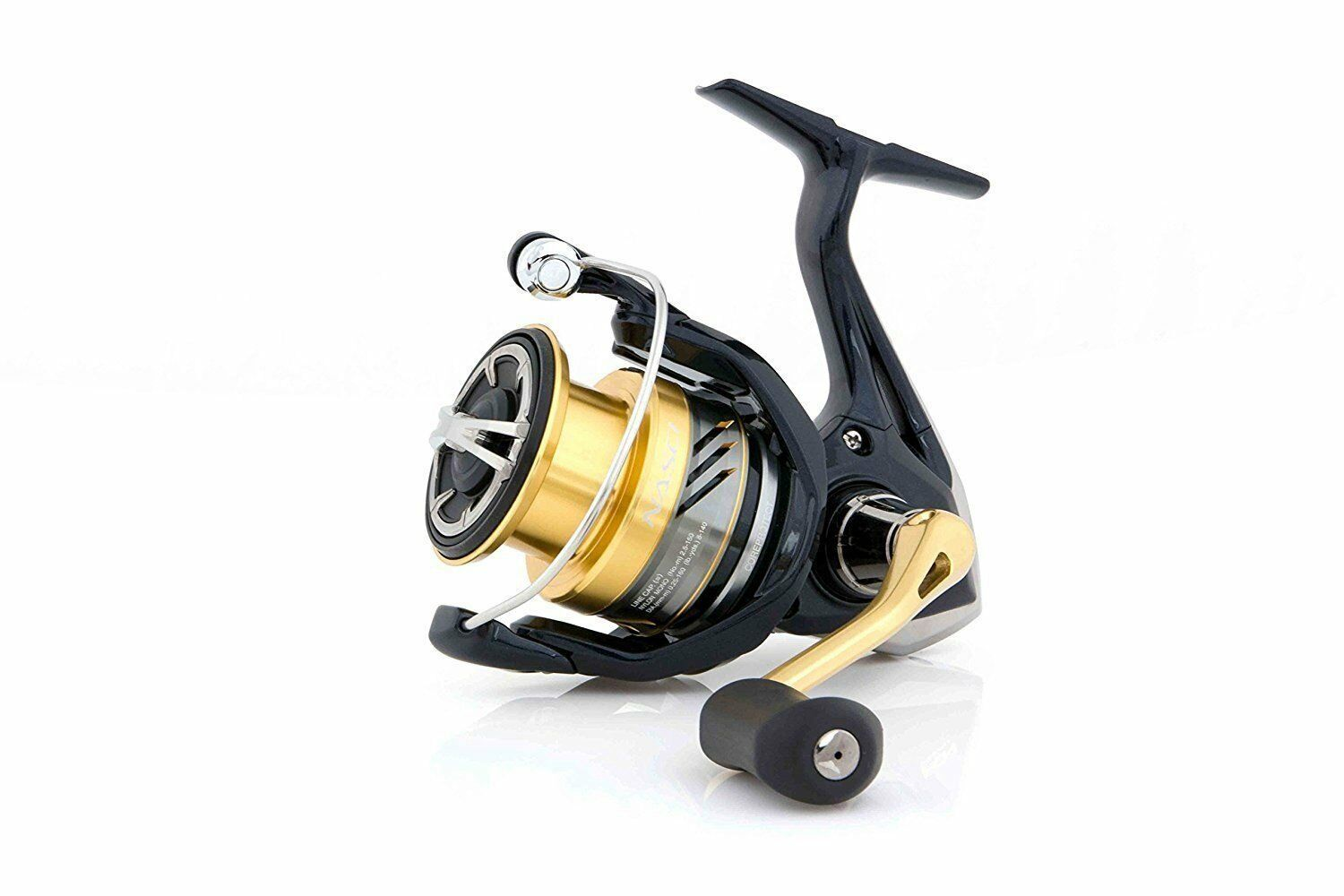 Shimano Nasci C 3000 FB, Spinning Rolle Frontbremse, NASC3000FB
