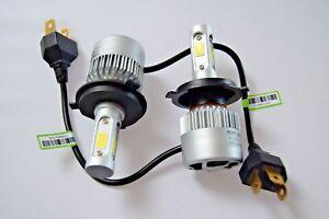 H4 Headlight Kit Car LED Turbo Cool Fan Bulbs PEUGEOT 106 1991