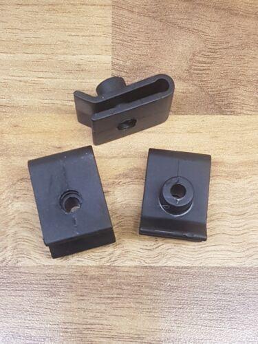 U-écrou de fixation de montage en plastique noir 90179-05060 5x Clips pour Toyota//Lexus