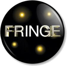 "Fringe Logo 25mm 1"" Pin Button Badge TV Series Sci-Fi FBI Emblem Title Symbol"