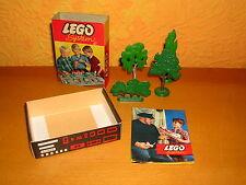 Lego System Set 230 Baum Bäume 1960er Jahre original Schachtel box oVp tree