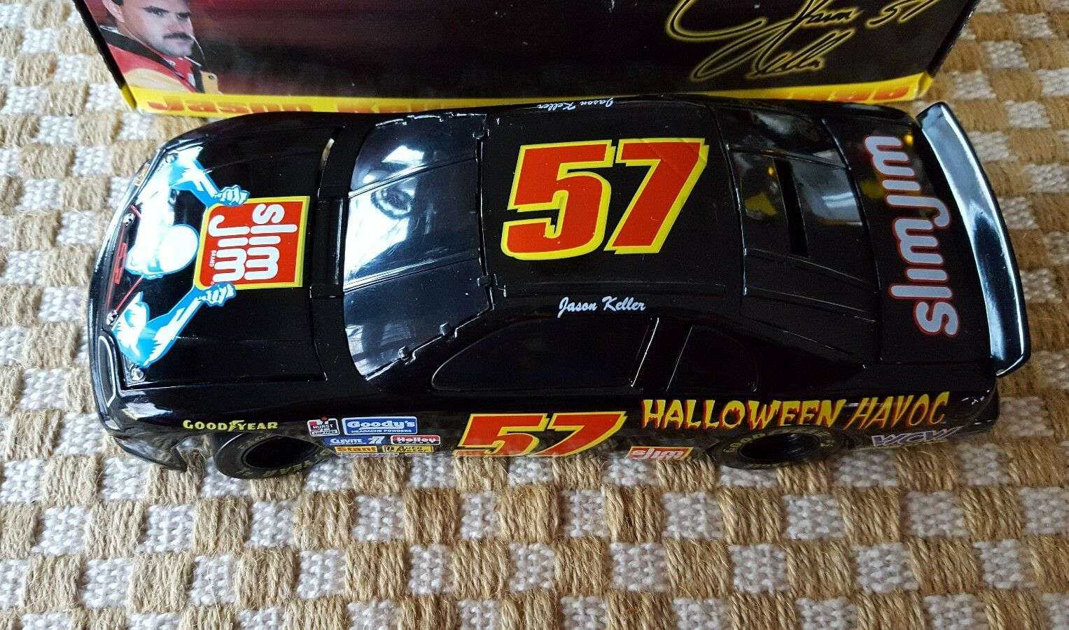 1 24 SCALE ACTION JASON KELLER SLIM JIM   HALLOWEEN HAVOC MONTE CARLO