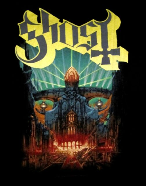 GHOST cd cvr MELIORA Official SHIRT XL New swedish heavy metal