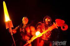 Laser Power He-Man vs Laser Light Skeletor MOTU Masters of the UNIVERSE CLASSICS