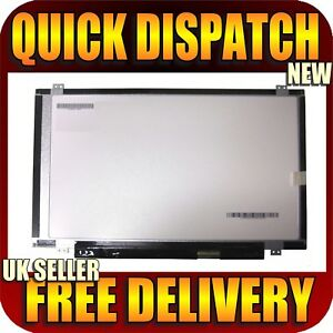 """Toshiba Satellite P845T-S4310 Laptop Screen 14"""" LED BACKLIT HD Without Touch"""