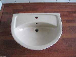 Waschbecken Waschtisch Breite 60 Cm Bahamabeige Bahama Beige Neu Ebay