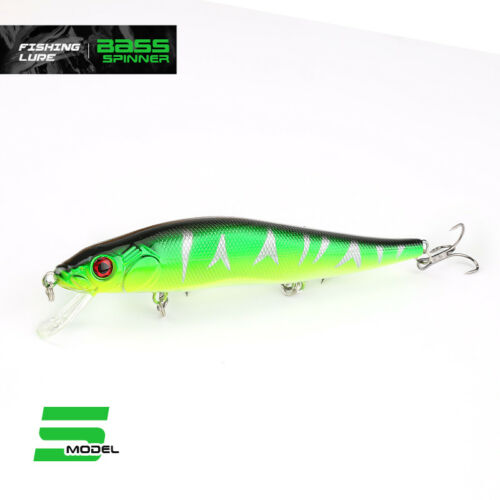 24g Fishing Lure Minnow Hard Bait 3 Fishing Hooks Fishing Tackle Lure Crankbaits