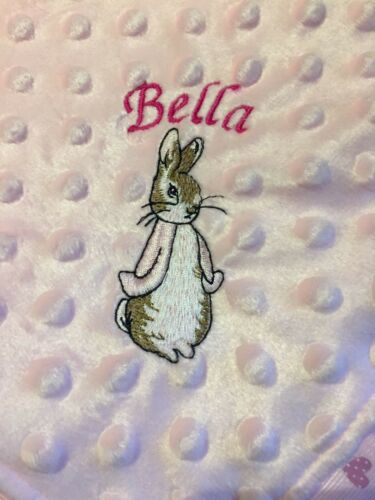 Comfort Blanket With Lily Bobtail Personalised Baby Taggie Taggy Comforter