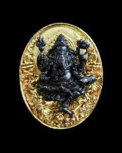 Details about Ganesha Asurintha Rahu Figure LP Tong Thai Amulet Buddhist  Brass Pendant BE 2560