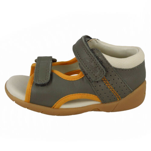 Details about  /BOYS CLARKS ZORA SPIRIT T HOOK /& LOOP CRUISERS SUMMER SANDALS INFANT CASUAL SIZE