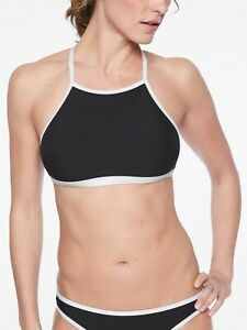 088f5a35b24 Image is loading NWT-Athleta-Cloudbreak-Rib-High-Neck-Bikini-Top-