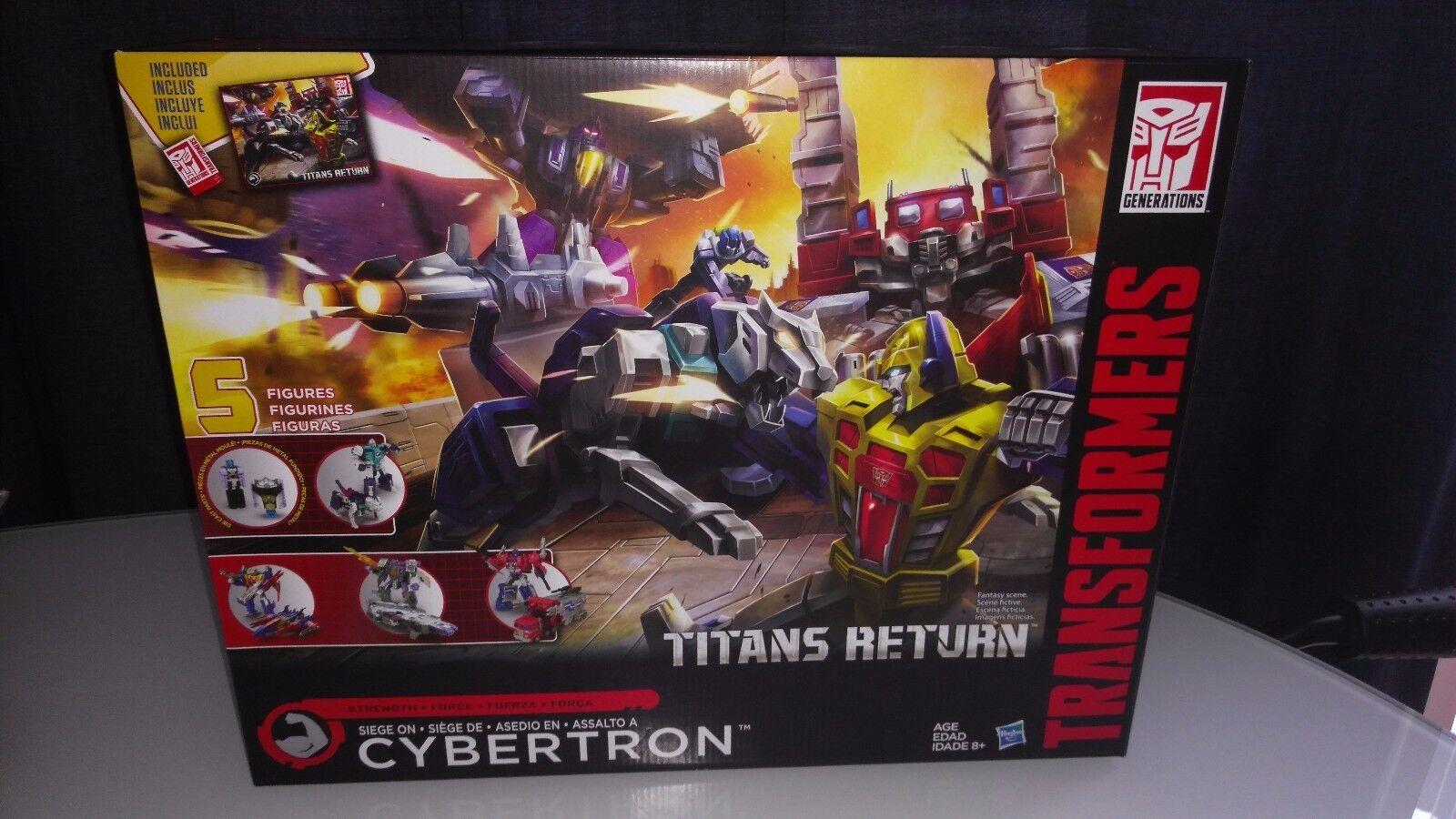 Transformers Titans Returns Cybertron Siege Boxset  MISB