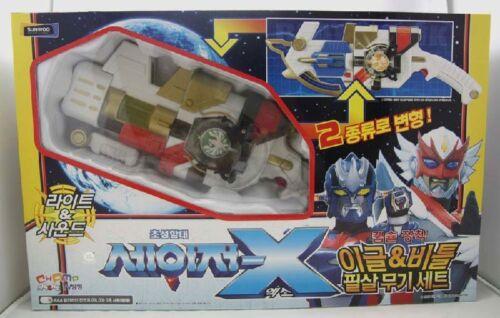 Konami Sazer-X Gransazers : Eagle Blaster & Beet Hawk (Big Size Weapon Set)