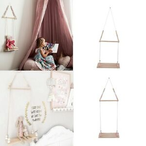 Decorative-Pendant-Wall-Shelf-Brackets-Hanging-Boy-Girls-Kids-Room-Organizer