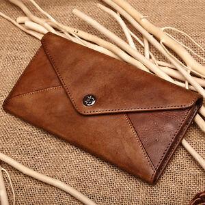 b7ba488e2703 Image is loading Handmade-Women-039-s-Genuine-Leather-Wristlet-Wallet-