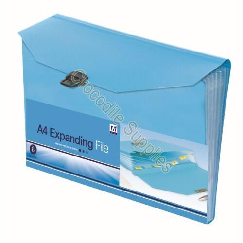 Teachers Educational Classroom Plastic Document Book Filing Folders Pockets