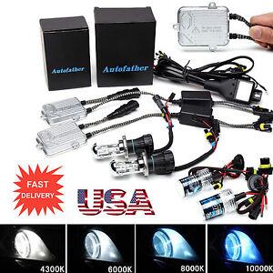 H7 H4 H1 55W HID CONVERSION KIT REPLACEMENT Xenon Bulbs H3 H8//H9//H11 9005 9006