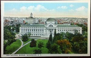 1920-039-s-Postcard-New-National-Museum-Washington-DC