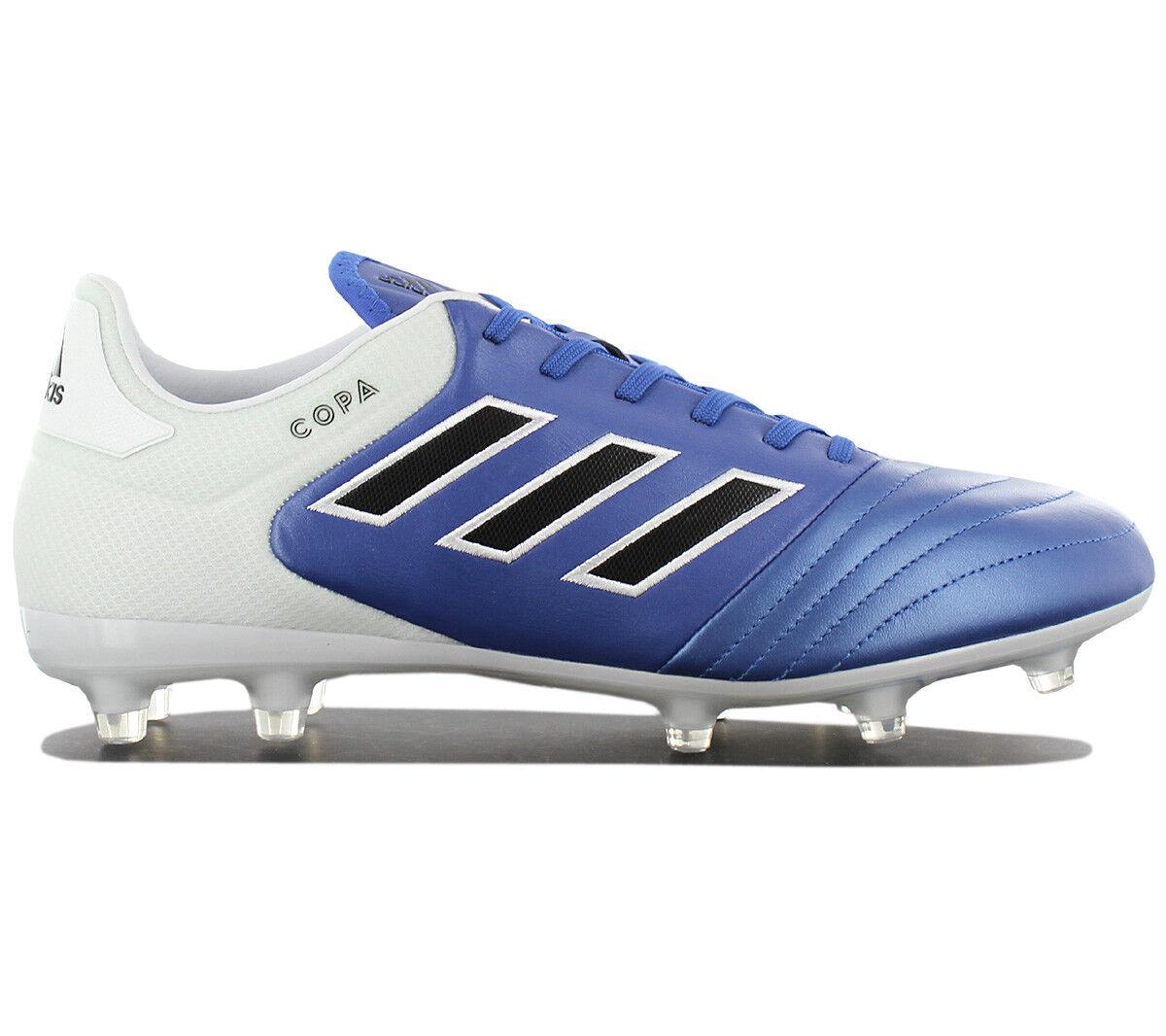 Adidas Copa 17.2 FG Herren Nocken Fußballschuhe Leder Leder Leder Blau Mundial BA8521 NEU 38c107