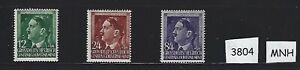 MNH-Full-1944-stamp-set-German-occupation-Adolph-Hitler-Poland-Occupation