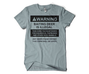 331eb279 NEW Men's Funny Hunters T-Shirt Warning Shirt Deer Hunter All Sizes ...