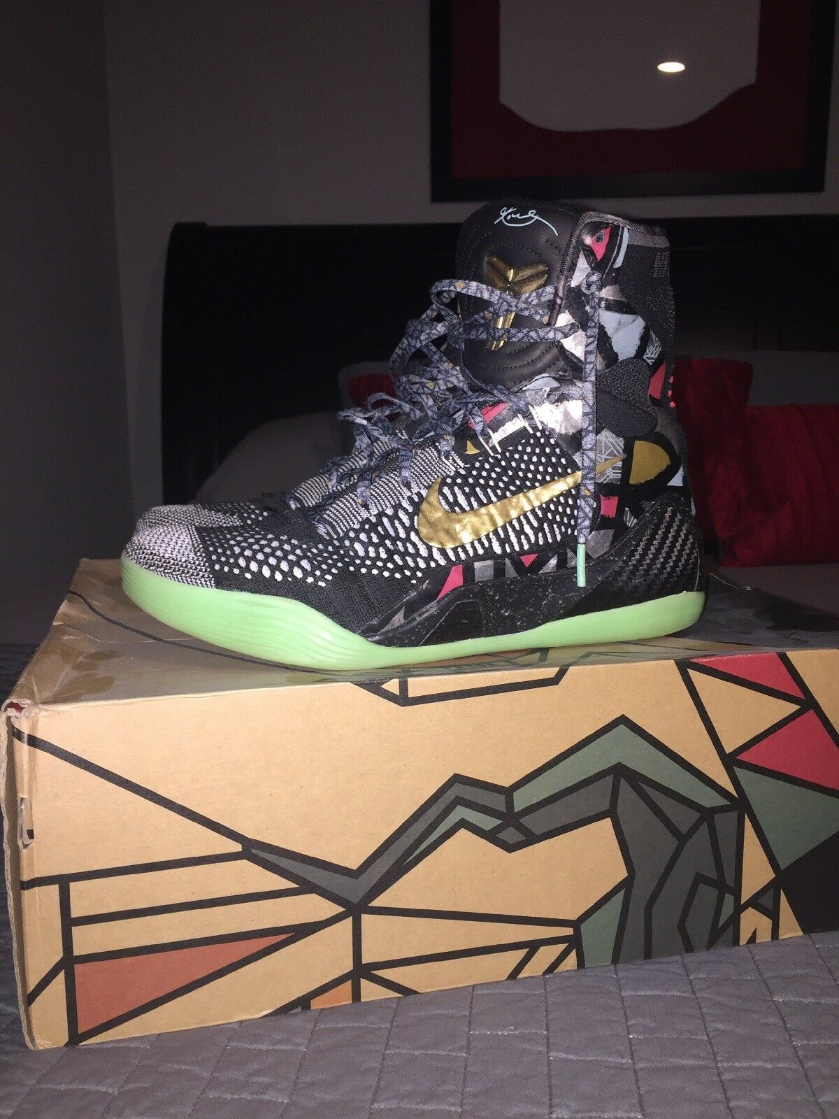 Kobe 9 All Star Gumbo Size 10 VNDS
