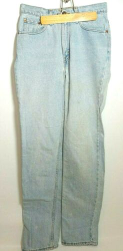 Women's Levis Vintage  512 Slim Straight Leg Red T
