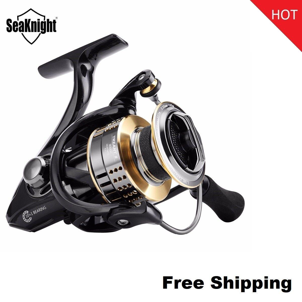 SeaKnight TREANT II Spinning Reel 2000H 3000H 4000H High Speed 6.2 1 Spinning
