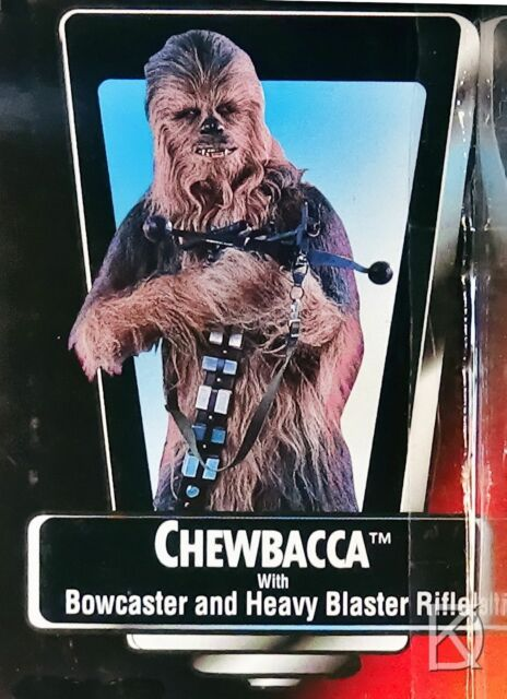 Chewbacca Star Wars POTF2 1995 Action Figurine Moc Rouge Carte