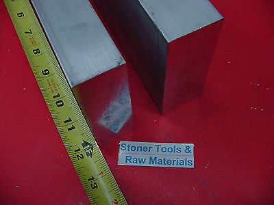 "2 Pieces 1-1//2/"" X 2/"" ALUMINUM 6061 FLAT BAR 14/"" long Solid T6511 Mill Stock 1.50"