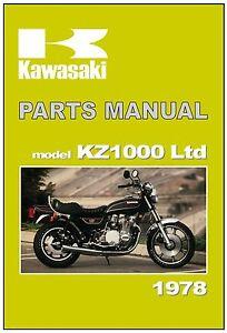 kawasaki parts manual z1000 ltd kz1000 kz1000 b2 1978 replacement rh ebay ca 2018 Z1000 ferris 1000z parts manual